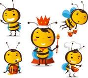 Σύνολο 1 μελισσών ελεύθερη απεικόνιση δικαιώματος