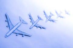 Σύνολο μικρών αεροπλάνων εγγράφου Στοκ φωτογραφίες με δικαίωμα ελεύθερης χρήσης