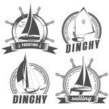 Σύνολο λογότυπων για τη ναυσιπλοΐα Στοκ εικόνες με δικαίωμα ελεύθερης χρήσης
