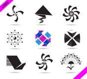 Σύνολο λογότυπων Στοκ φωτογραφία με δικαίωμα ελεύθερης χρήσης