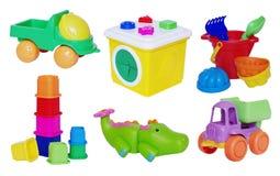 Σύνολο παιχνιδιών μωρών Στοκ εικόνες με δικαίωμα ελεύθερης χρήσης