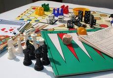 Σύνολο παιχνιδιών Στοκ φωτογραφίες με δικαίωμα ελεύθερης χρήσης