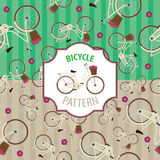 Σύνολο ποδηλάτων σχεδίων, αριθμός 4 Στοκ Εικόνες