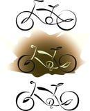 Σύνολο ποδηλάτων απεικόνιση αποθεμάτων