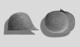 Σύνολο προτύπων καπέλων Στοκ εικόνα με δικαίωμα ελεύθερης χρήσης
