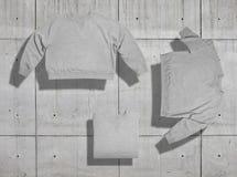 Σύνολο προτύπων μπλουζών Στοκ φωτογραφία με δικαίωμα ελεύθερης χρήσης