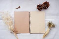 Σύνολο προτύπων σημειωματάριων ταυτότητας και τεχνών, τοπ άποψη Στοκ φωτογραφία με δικαίωμα ελεύθερης χρήσης