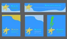 Σύνολο προτύπων υποβάθρου Στοκ Εικόνες