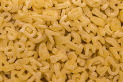 Σύνολο πλαισίων των νουντλς αλφάβητου ή των ζυμαρικών αλφάβητου Στοκ φωτογραφίες με δικαίωμα ελεύθερης χρήσης