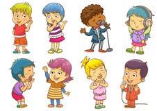 Σύνολο ρουτινών δραστηριοτήτων παιδιών Στοκ εικόνα με δικαίωμα ελεύθερης χρήσης