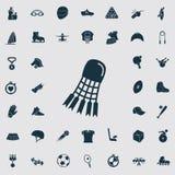 Σύνολο σαράντα αθλητικών εικονιδίων ελεύθερη απεικόνιση δικαιώματος