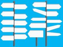 Σύνολο σημαδιών οδικών πινάκων Στοκ Εικόνα