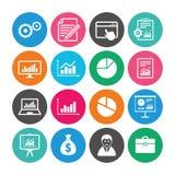 Σύνολο στατιστικών, εικονιδίων λογιστικής και εκθέσεων Στοκ εικόνες με δικαίωμα ελεύθερης χρήσης