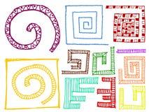Σύνολο στοιχείων σχεδίου doodle Στοκ Εικόνα