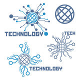 Σύνολο στοιχείων τεχνολογίας κυκλωμάτων Στοκ Φωτογραφίες