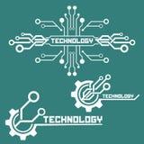 Σύνολο στοιχείων τεχνολογίας Στοκ Εικόνα
