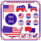 Σύνολο στοιχείων ψηφοφορίας και εκλογής απεικόνιση αποθεμάτων