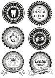 Σύνολο στρογγυλών διακριτικών για την οδοντική κλινική ελεύθερη απεικόνιση δικαιώματος