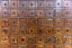 Σύνολο συρταριών στοκ φωτογραφίες