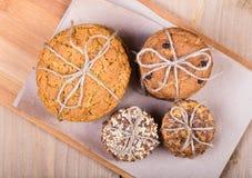 Σύνολο συσσωρευμένων μπισκότων Στοκ Εικόνα