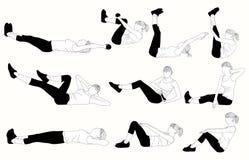 Σύνολο συστηματικού για τις ασκήσεις Τύπου Στοκ εικόνες με δικαίωμα ελεύθερης χρήσης