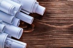 Σύνολο σχεδίων κατασκευής για το εκλεκτής ποιότητας ξύλινο πεύκο Στοκ Εικόνα