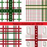 Σύνολο σχεδίων Χριστουγέννων Στοκ Εικόνα