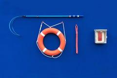 Σύνολο σωστικών μέσων νερού Lifeguard Στοκ εικόνα με δικαίωμα ελεύθερης χρήσης