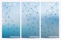 Σύνολο σύγχρονων διανυσματικών ιπτάμενων Στοκ εικόνες με δικαίωμα ελεύθερης χρήσης