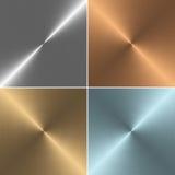 Σύνολο τετράγωών συστάσεων μετάλλων ελεύθερη απεικόνιση δικαιώματος