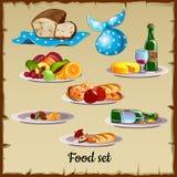 Σύνολο τροφίμων και αποβλήτων Στοκ Φωτογραφίες