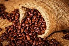 Σύνολο τσαντών σάκων των ψημένων φασολιών καφέ Στοκ Εικόνα