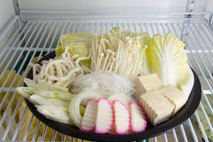 Σύνολο υγιών λαχανικών Στοκ Εικόνες