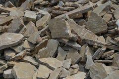 Σύνολο υποβάθρου του ίδιου τύπου πετρών Στοκ φωτογραφία με δικαίωμα ελεύθερης χρήσης