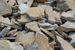 Σύνολο υποβάθρου του ίδιου τύπου πετρών Στοκ Φωτογραφίες