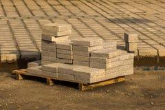Σύνολο υποβάθρου των μικρών βράχων του ίδιου τύπου Στοκ φωτογραφία με δικαίωμα ελεύθερης χρήσης