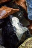 Σύνολο υποβάθρου των μικρών βράχων του ίδιου τύπου Στοκ Φωτογραφία