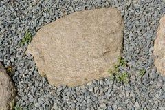 Σύνολο υποβάθρου των μικρών βράχων του ίδιου τύπου Στοκ εικόνα με δικαίωμα ελεύθερης χρήσης