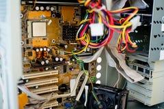 Σύνολο υλικού υπολογιστών Στοκ φωτογραφία με δικαίωμα ελεύθερης χρήσης