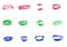 Σύνολο φιλιών Στοκ εικόνα με δικαίωμα ελεύθερης χρήσης