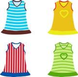 Σύνολο φορέματος των παιδιών Στοκ φωτογραφίες με δικαίωμα ελεύθερης χρήσης