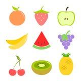 Σύνολο φρούτων Στοκ φωτογραφία με δικαίωμα ελεύθερης χρήσης