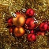 σύνολο Χριστουγέννων σφ&alph Στοκ εικόνα με δικαίωμα ελεύθερης χρήσης