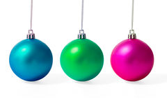 σύνολο Χριστουγέννων σφ&alph Στοκ φωτογραφίες με δικαίωμα ελεύθερης χρήσης