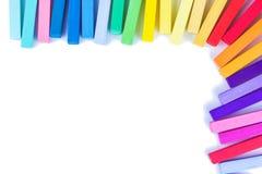 Σύνολο χρωματισμένων κραγιονιών Στοκ φωτογραφία με δικαίωμα ελεύθερης χρήσης