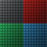 Σύνολο χρωματισμένων υποβάθρων για μια περιοχή, ένα έμβλημα ή μια αφίσα με το squ διανυσματική απεικόνιση