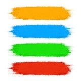 Σύνολο χρώματος χρωμάτων Στοκ εικόνα με δικαίωμα ελεύθερης χρήσης