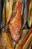 σύνολο ψαριών που καπνίζε& Στοκ φωτογραφία με δικαίωμα ελεύθερης χρήσης