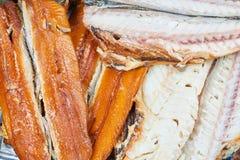 σύνολο ψαριών που καπνίζε& Στοκ Φωτογραφία