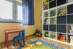 Σύνολο δωματίων παιδιών των χρωμάτων Στοκ φωτογραφία με δικαίωμα ελεύθερης χρήσης